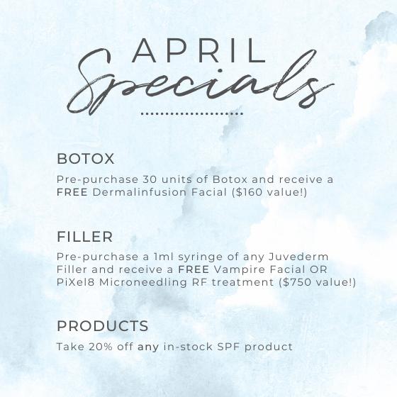 April Specials at CECofNE in Portland, Maine
